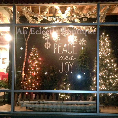 RD Holiday Window